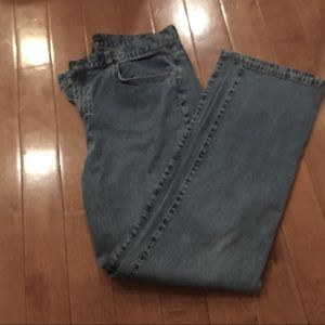 14 M Mis Levi's 550 Relaxed Boot Cut Med Blue
